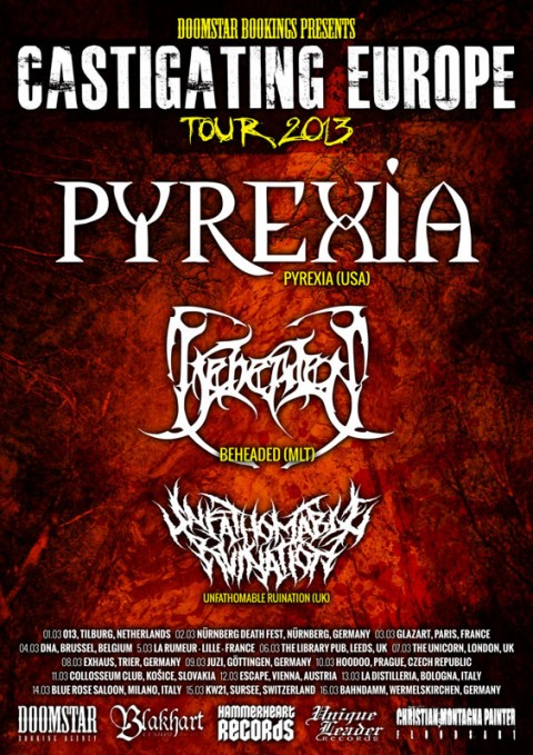 castigating europe 2013 pyrexia beheaded
