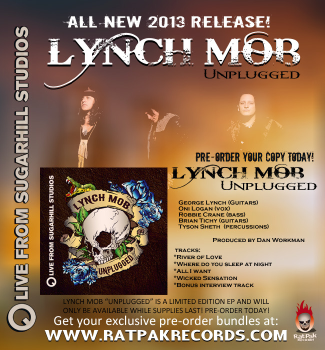 lynch mob 2013 unplugged