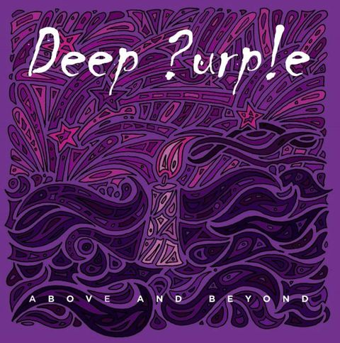 deep purple above and beyond