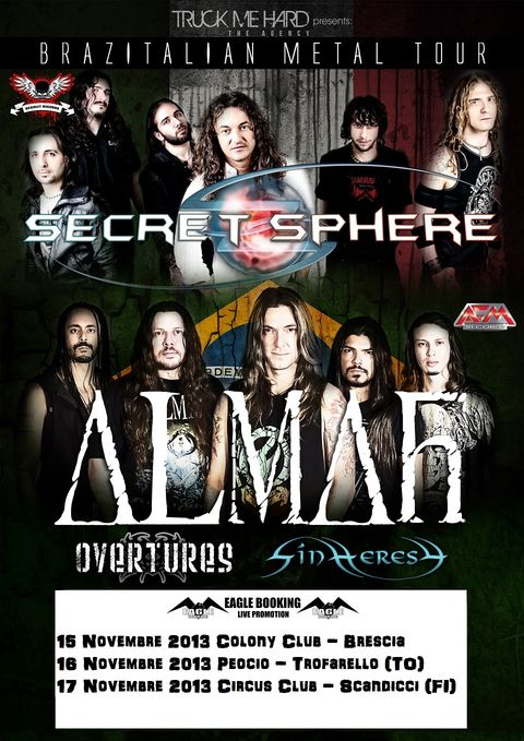 Almah + Secret Sphere
