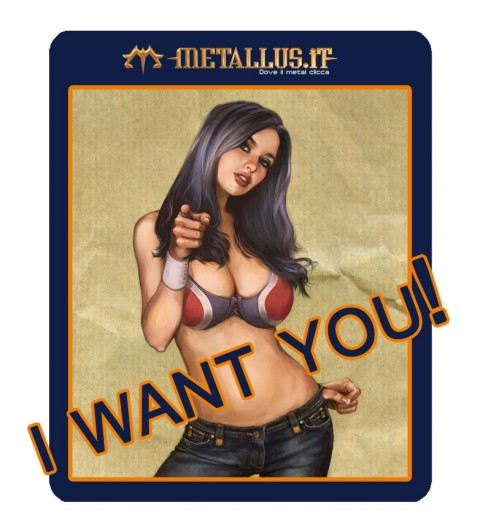I WANT YOU Metallus