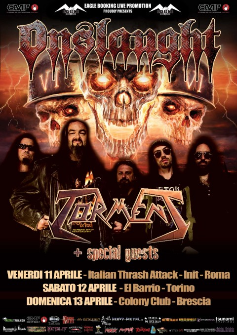 Onslaught Italian Tour Promo Web