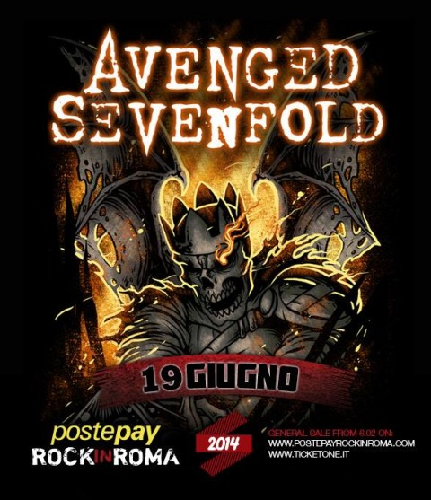 avenged sevenfold rock in roma