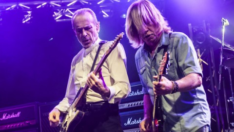 Status Quo Perform At The Civic Hall In Wolverhampton