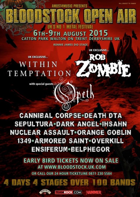 Bloodstock Open Air 2015