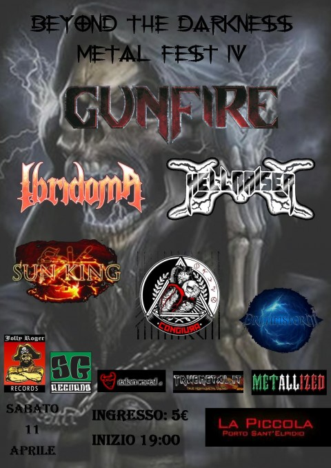 Beyond The Darkness Metal Fest IV