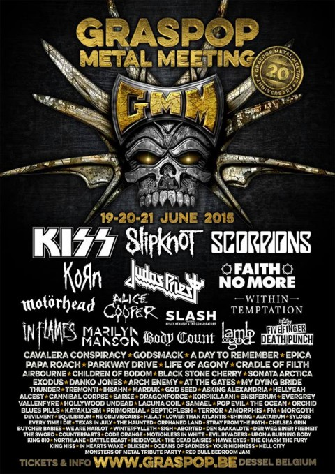 Graspop 2015-new confirmation