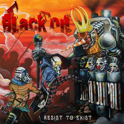 Black Oil - Resist To Exist cover