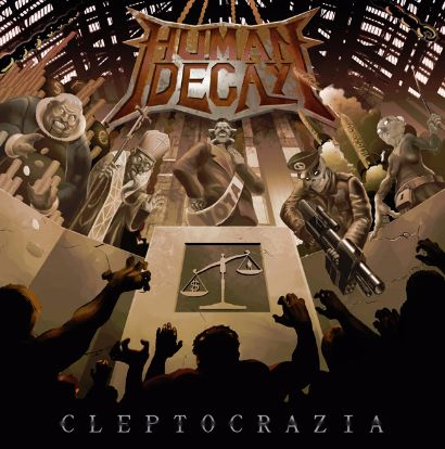 Human Decay - Cleptocrazia cover