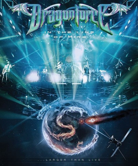 Dragonforce - In The Line Of Fire copertina