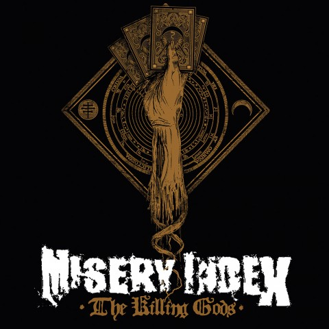 Misery Index - The Killing Gods cover