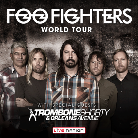 foo fighters troy trombone shorty