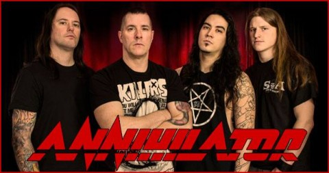 Annihilator - new lineup