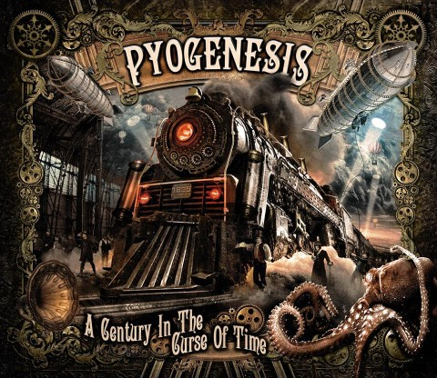 Pyogenesis - A century in the curse of time artwork