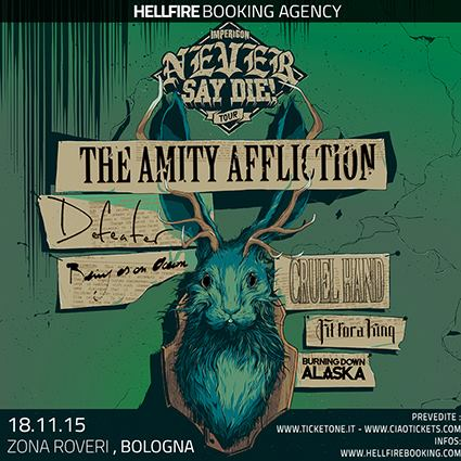 The Amity Affliction - The Never Say Die