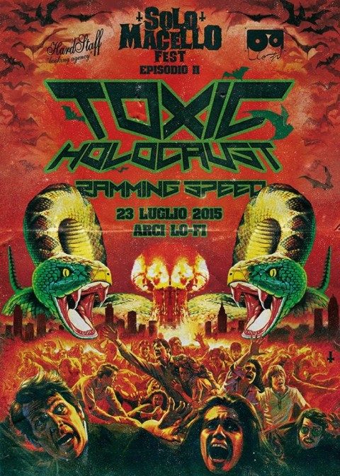 solo macello 2015 toxic holocaust