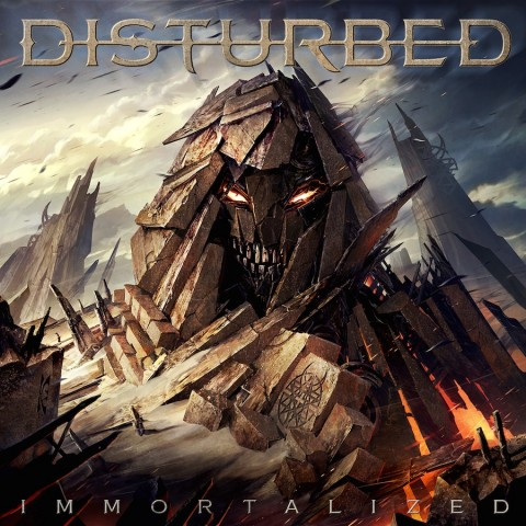 Disturbed-Immortalized-Official Artwork