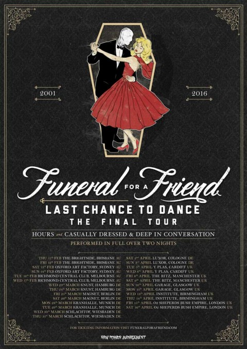 Funeral for a Friend - Last Chance to Dance
