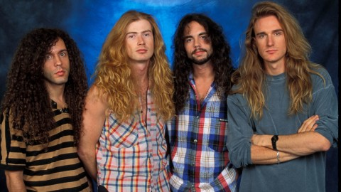 Megadeth - Rust In Peace Line Up