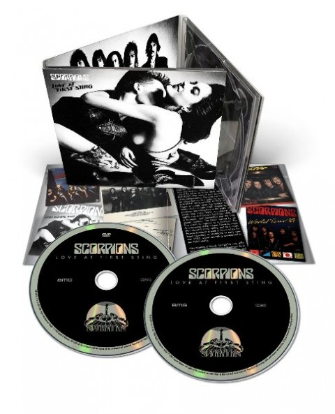 Scorpions Love At First Sting Deluxe