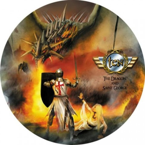 Ten_The-Dragon-And-Saint-George_Picture-Disc