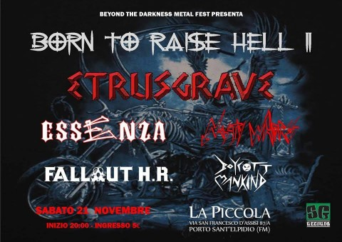 Born To Raise Hell II