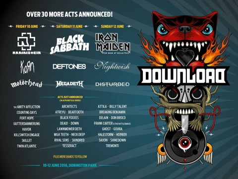 Downloa Festival - Band Updates 6-12-2015