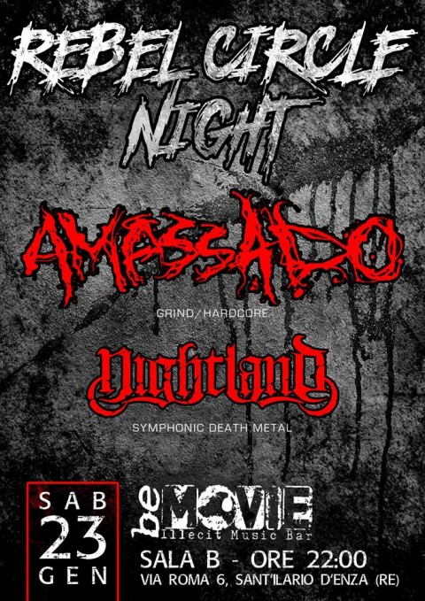 Rebel Circle Night - Amassado Nightland