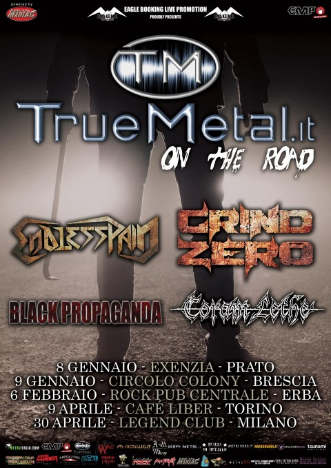 Truemetal on the road 2015