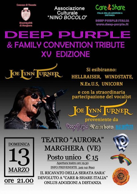 Deep Purple & Family Convention Tribute