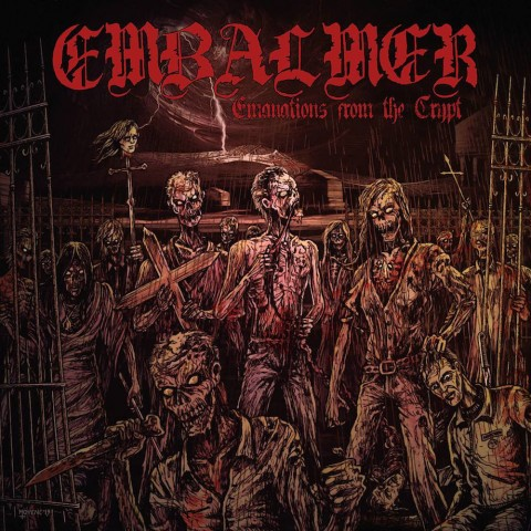 Embalmer Emanations From The Crypt Cover Album 2016
