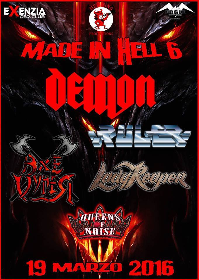 Made In Hell Demon