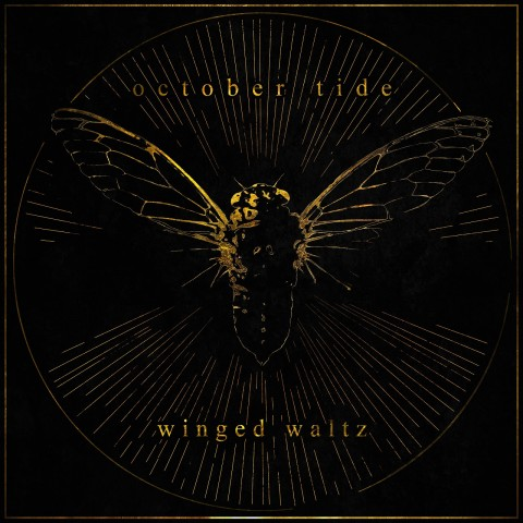 October Tide Winged Waltz Cover Album