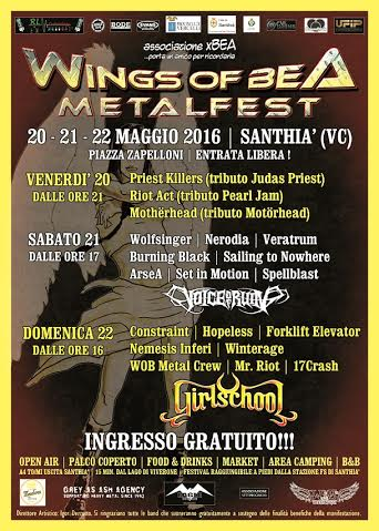 WIngs of Bea - metalfest