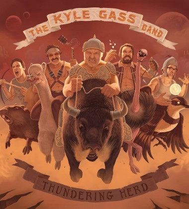 KYLE GASS BAND_The Thundering Herd_web