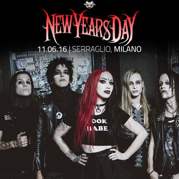 New Years Day - Milano 2016