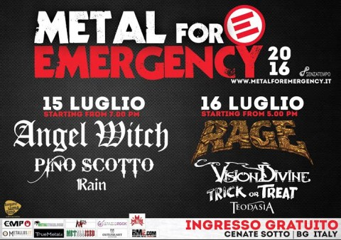 Metal for emergency