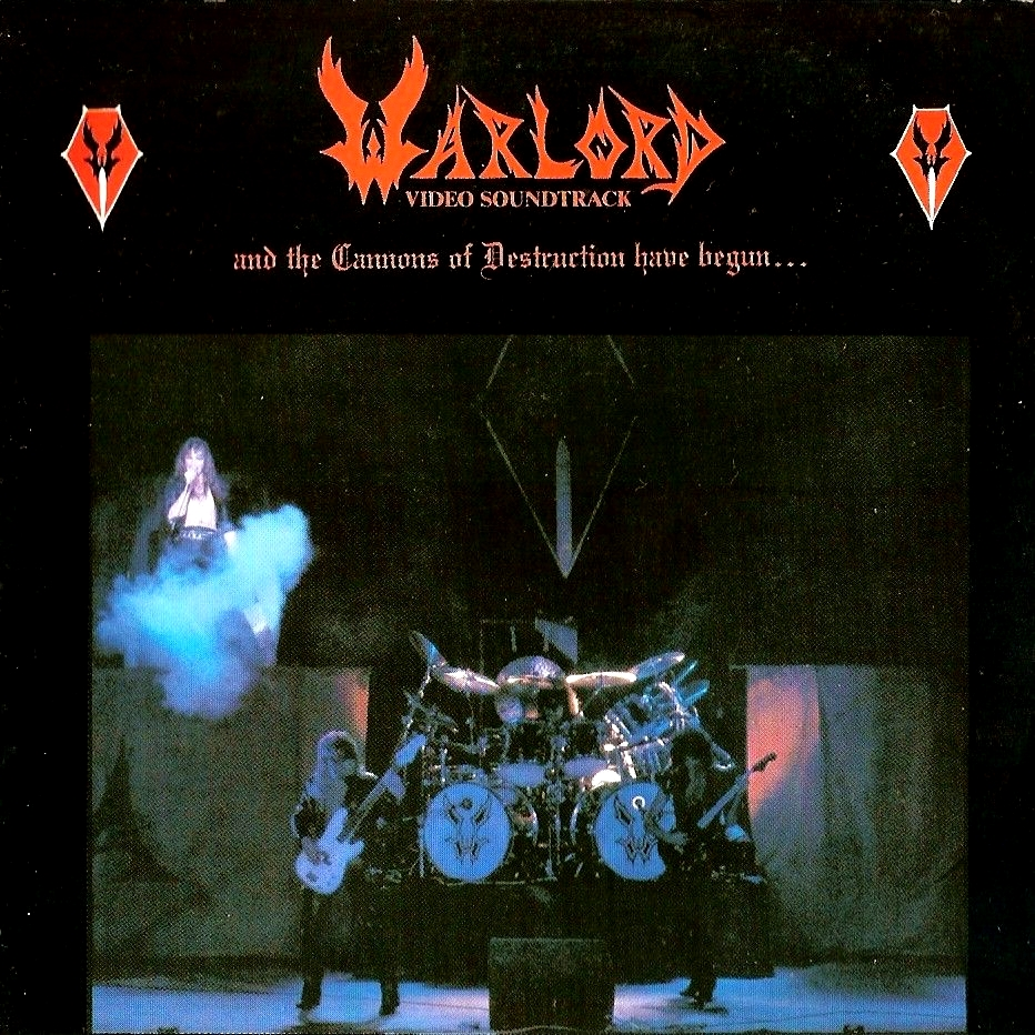 WARLORD – And The Cannons Of Destruction Has Begun…