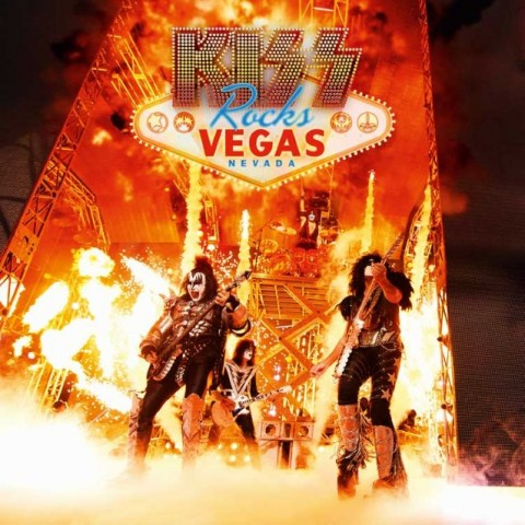 Kiss Rocks Vegas Cover DVD 2016