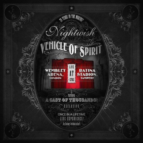 Nightwish Vehicle Of Spirits Artwork 2016