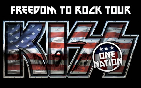 kiss tour logo april