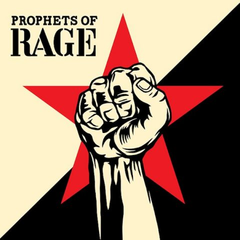 Prophets Of Rage Album Cover 2017