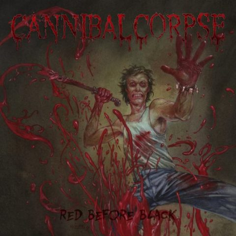 Cannibal Corpse Red Before Black Cover Album 2017