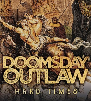 doomsday outlaw hard times cover album 2018