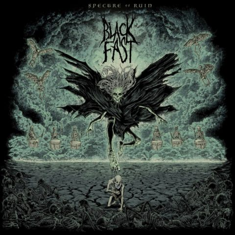 Black Fast Spectre of Ruin cover album 2018
