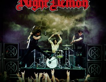 Night Demon Live Darkness Cover Album 2018