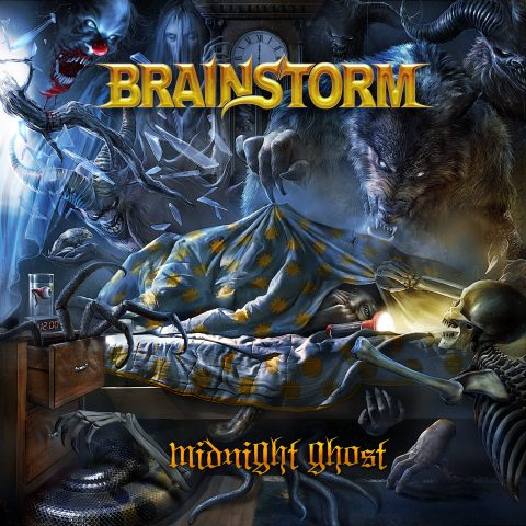 Brainstorm Midnight Ghost Cover Album 2018