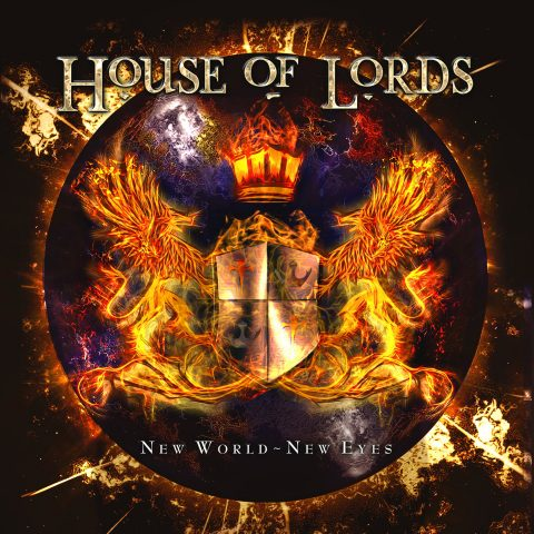 House of Lords, copertina di New World - New Eyes